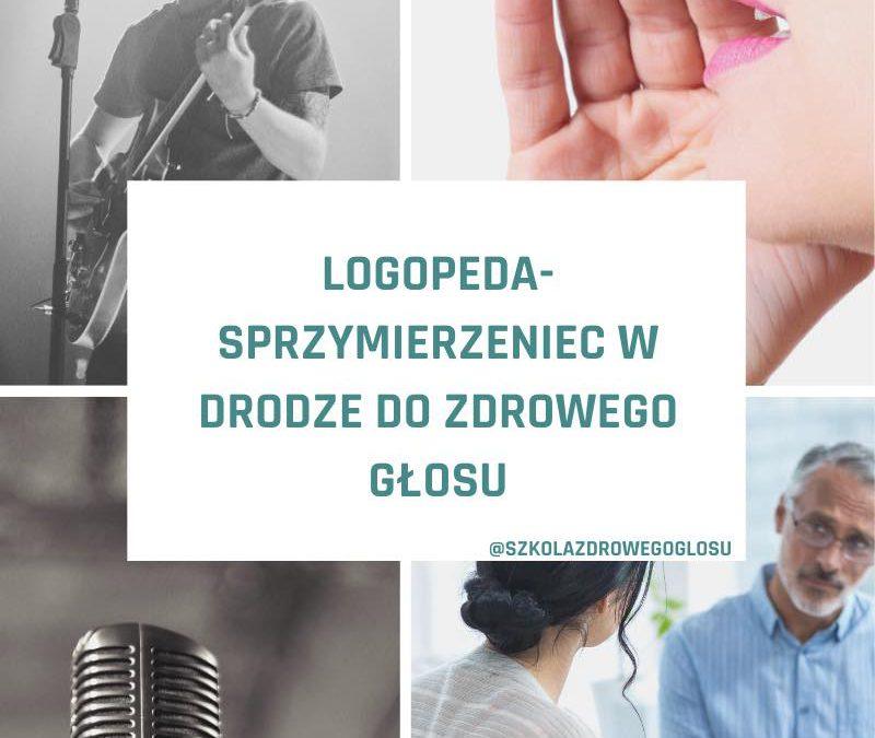 Logopeda- sprzymierzeniec w drodze do zdrowego głosu